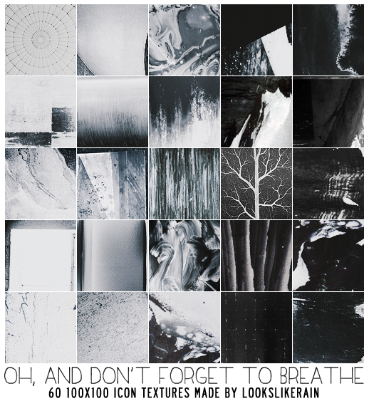 Oh, And Don't Forget To Breathe by lookslikerain