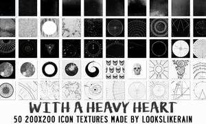 With A Heavy Heart by lookslikerain