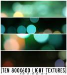 10 large light textures
