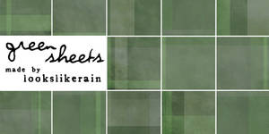 Texture Pack 8 - Green Sheets