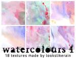 Watercolours - Set 1