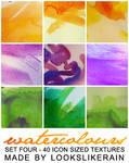 Watercolours - Set 4