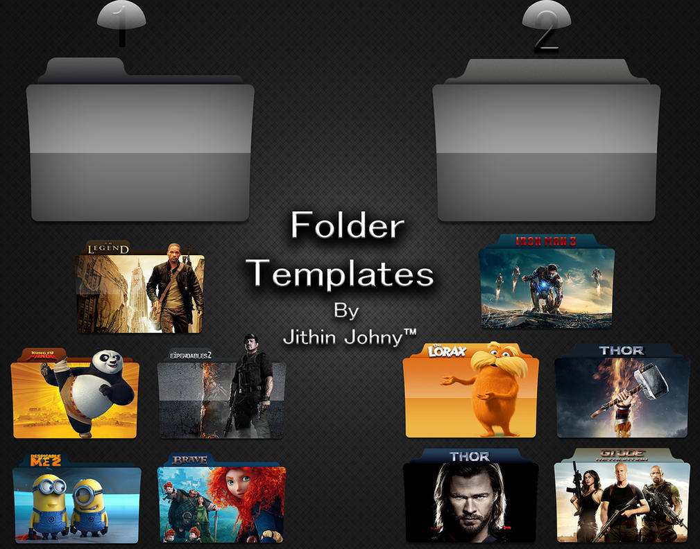 Folder Templates by jithinjohny