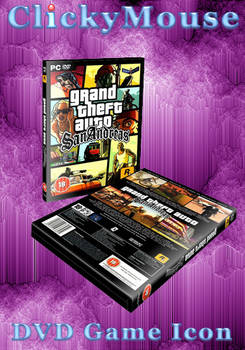 GTA: San Andreas DVD Case Icon