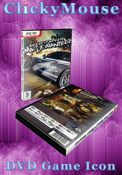 NFS: Most Wanted DVD Case Icon