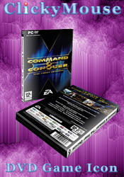 Command and Conquer DVD-Case