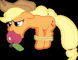 Hogtied Applejack by Jeatz-Axl