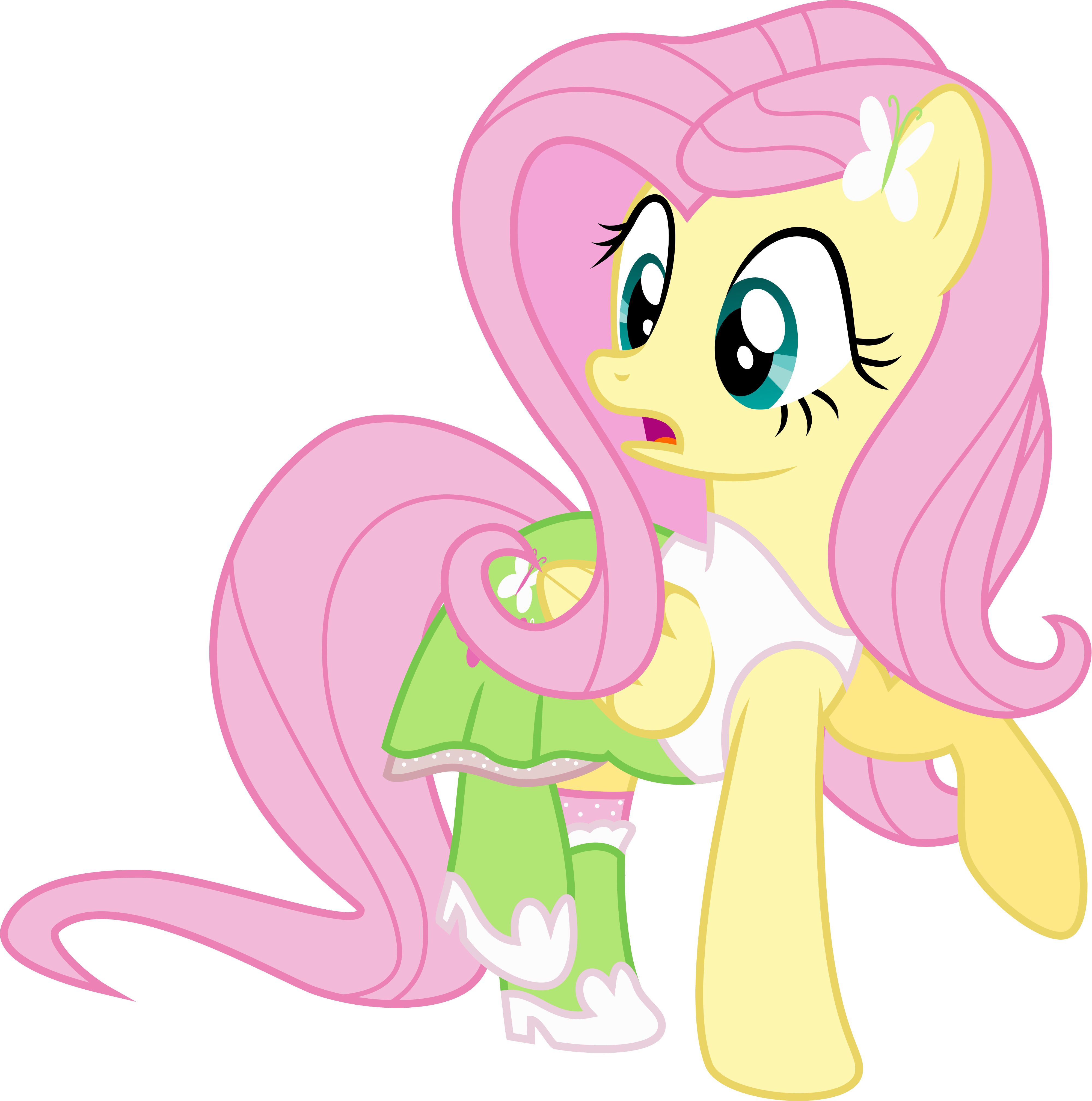 Fluttershy Equestria Girls Outfit