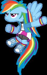 Rainbow Dash Equestria Girls Outfit by Jeatz-Axl