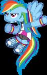 Rainbow Dash Equestria Girls Outfit