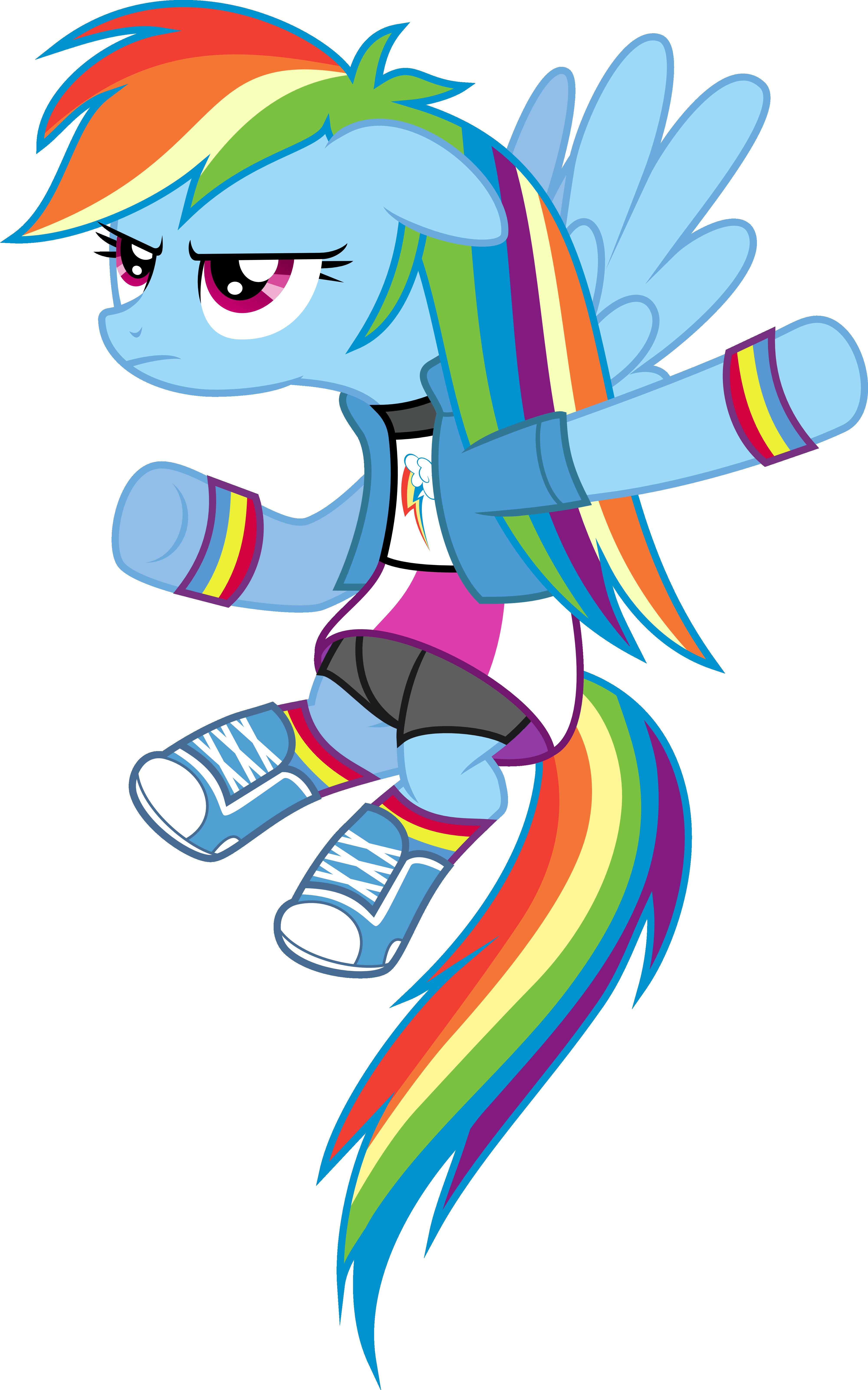 Rainbow Dash Equestria Girls Outfit By Jeatz Axl