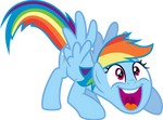 Rainbow Dash Wow