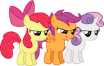 Cutie Mark Crusaders Hustlers