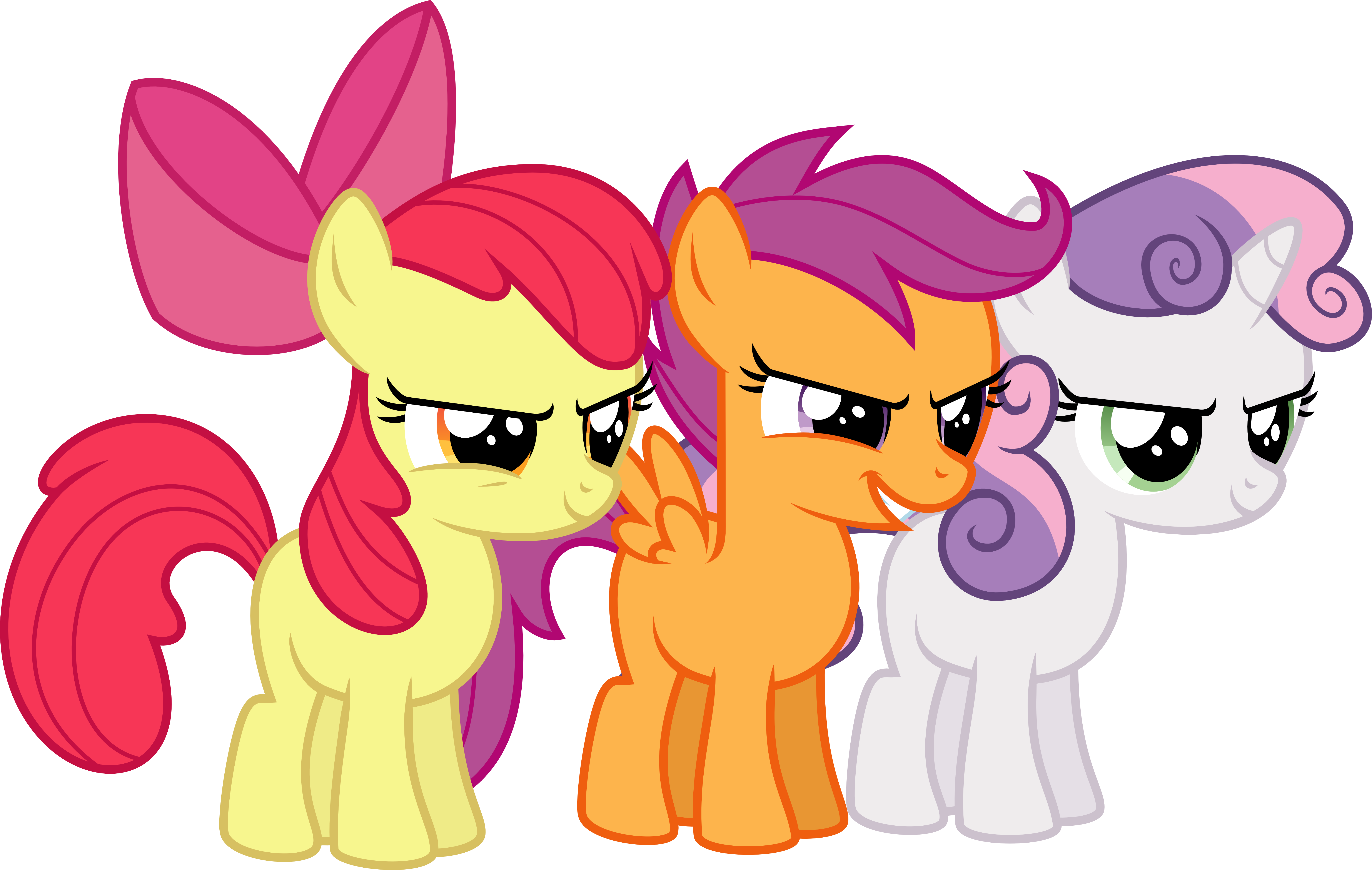 Cutie Mark Crusaders Hustlers by Jeatz-Axl