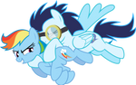 Rainbow and Soarin Quality Time