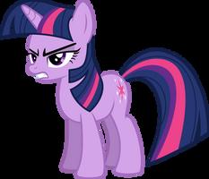 Twilight Sparkle Staring at Trixie by Jeatz-Axl