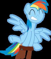 Rainbow Dash Stool Fun by Jeatz-Axl