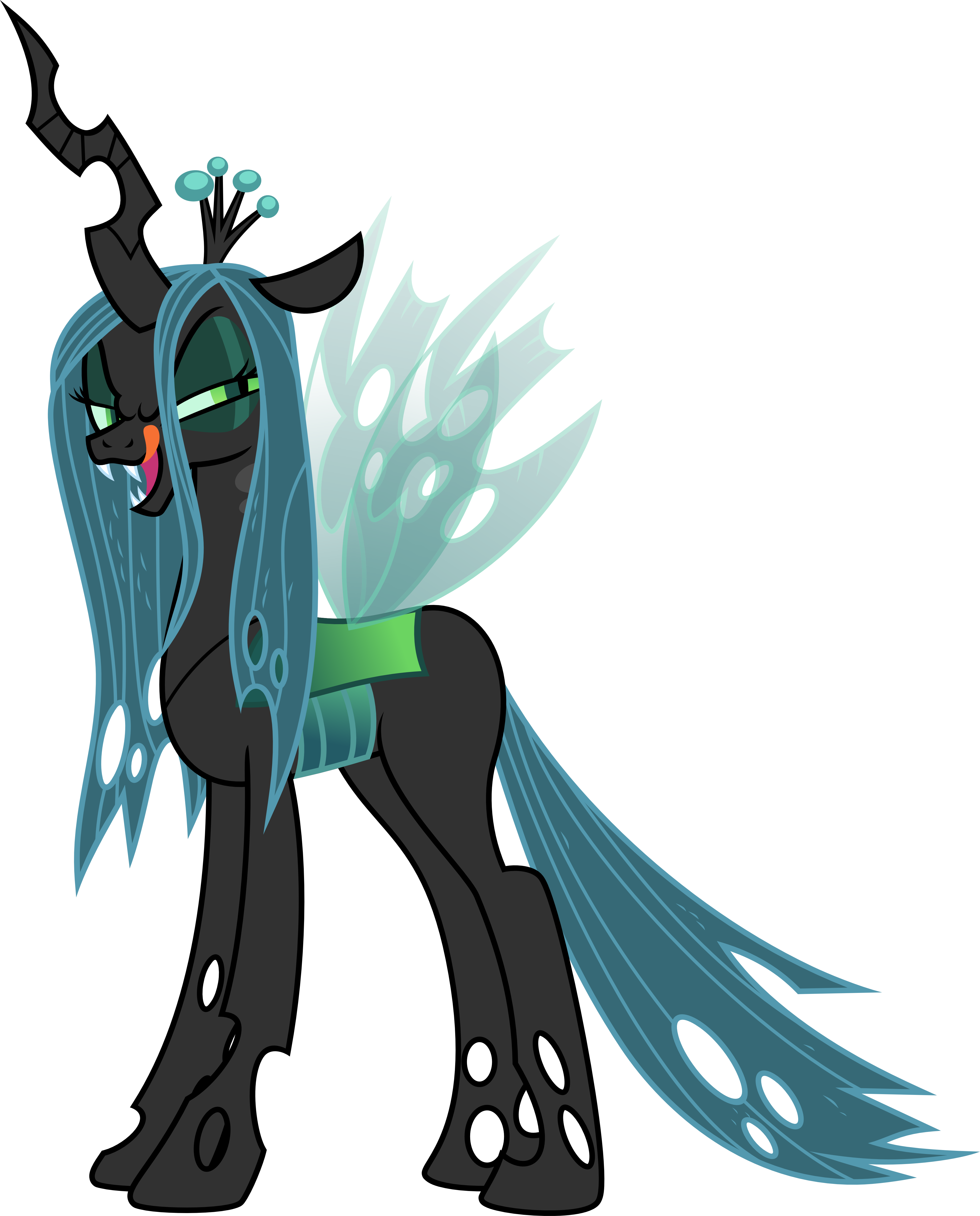 queen chrysalis hipster - photo #16