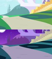 Walkway Background 2 by Jeatz-Axl