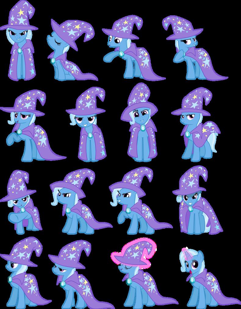 My little pony trixie vector - photo#21