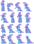 Trixie Vectors Set 2