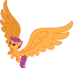Scootaloo Big Wings