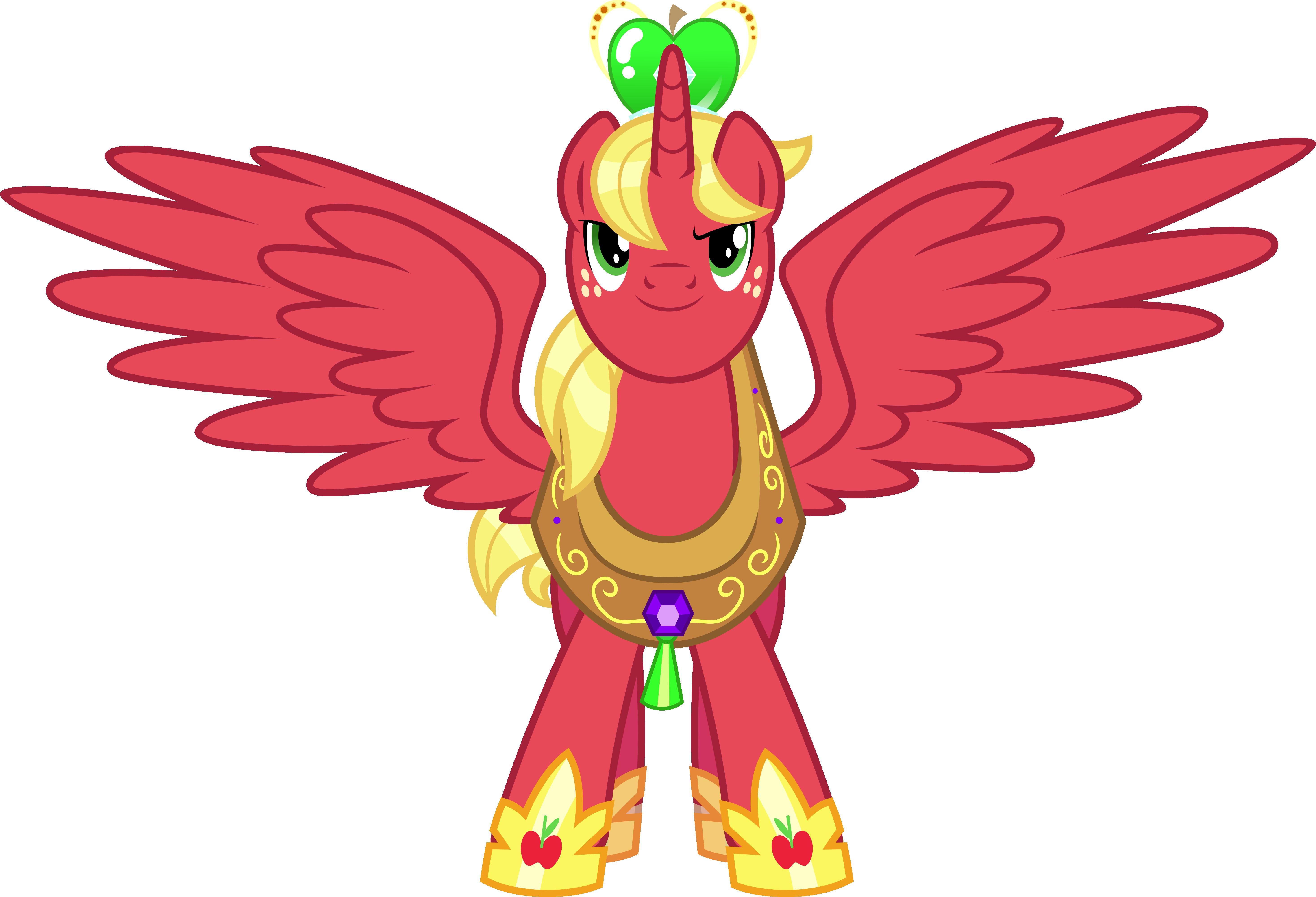 Princess Big Mac By Jeatz Axl On Deviantart Princess Big Macintosh