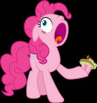 Pinkie Pie Loves Cupcakes