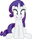 Rarity Overly Excited