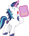 Shining Armor finds Pinkie's Stash