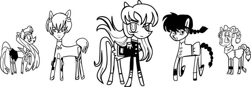 Anime Ponies