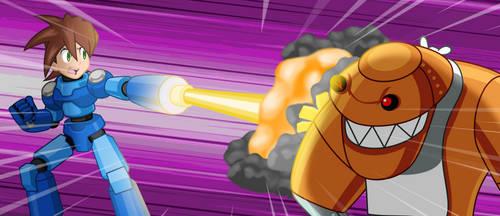 Megaman Vs Mort
