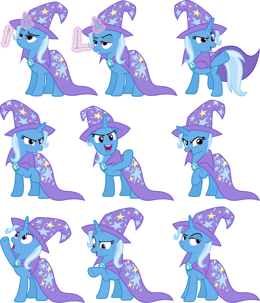 Trixie Vectors Set 19 by Jeatz-Axl