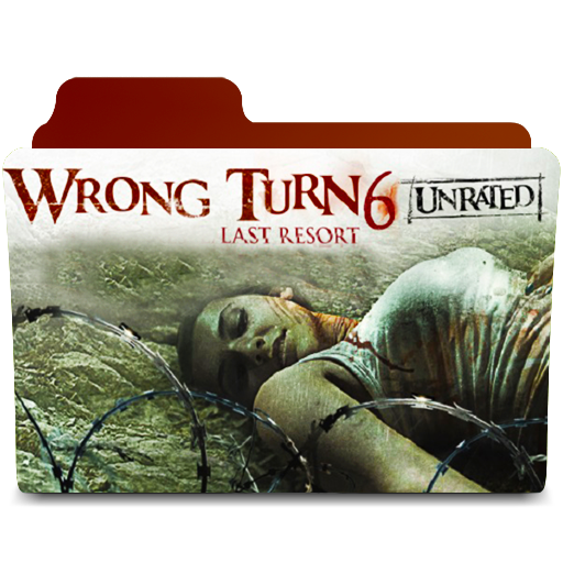 Wrong Turn 6 - Last Resort Folder Icon by amirtanha18