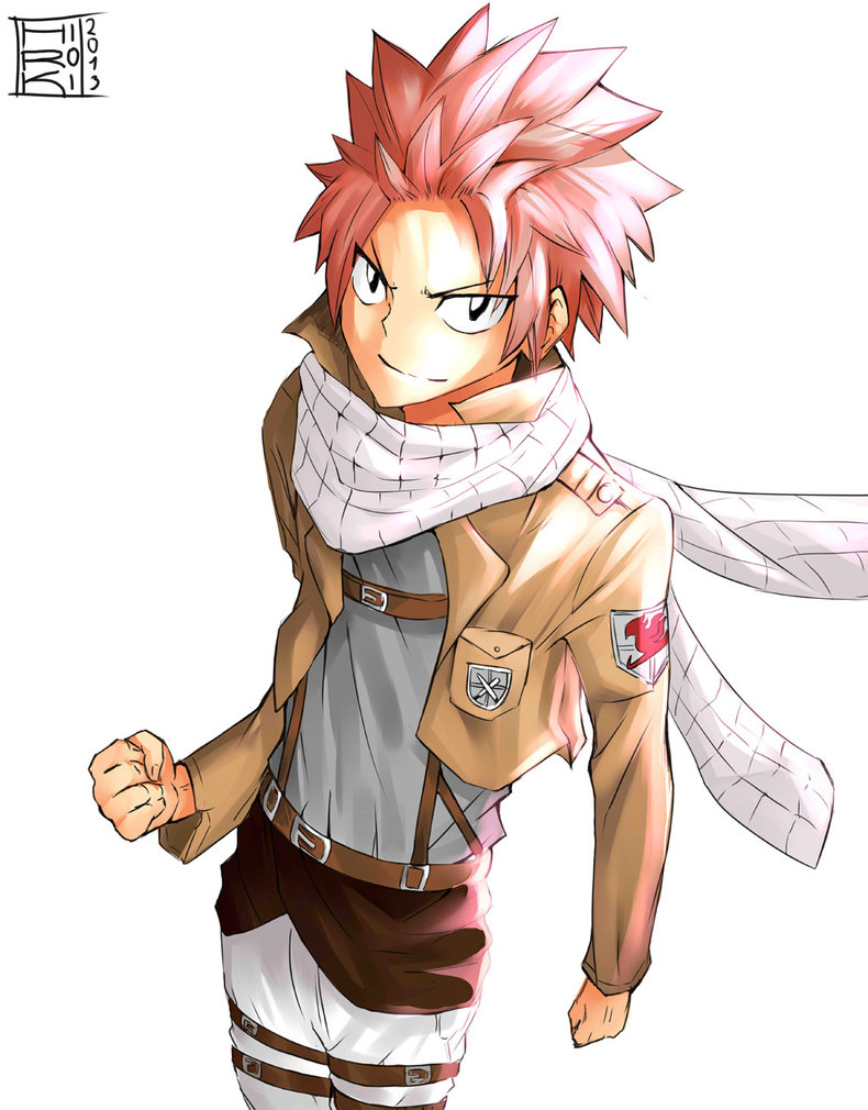 Attack on titan x fairy tail reader pt 3 by assassinfox00 on