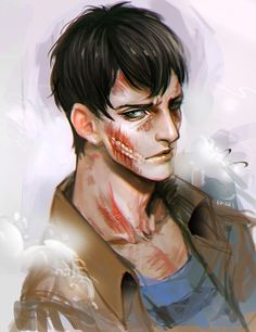 Bertholdt x Reader 'Who's the real monster?' by