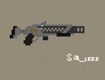 Blaster Rifle - Pixel Animation