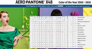 Aero Pantone x48