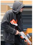 16bit Sprite: Shotgun Thug by tv16bit