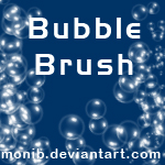 Bubble Brush by monib