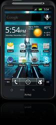 Tron Legacy HTC Desire HD by blackbeast