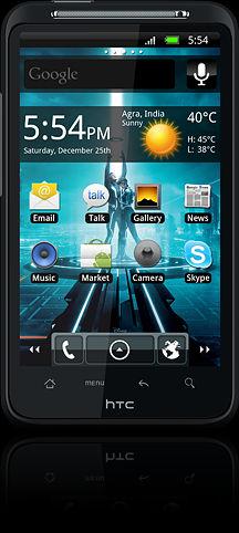 Tron Legacy HTC Desire HD