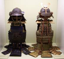 Antique Samurai Armors by ValerianaSTOCK