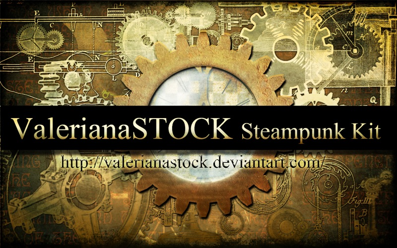 Photoshop Steampunk Kit