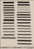 MangaStudio5/ClipStudio 30 Tube Brushes Set 01 by CyART-CiprianFlorea