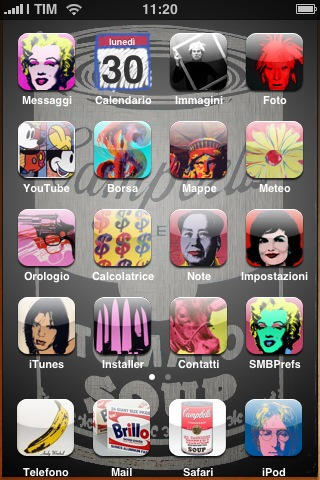 Warhol's iphone by cucugnoc