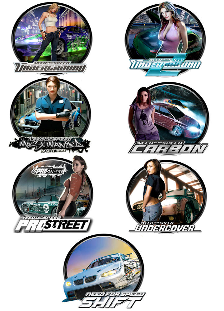 Need for Speed Pack by kraytos