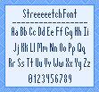 Streeeeetch Font