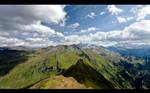 Land of Peaks - Wallpaper