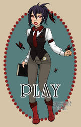 Victorian Butterfly GAME by Moemai